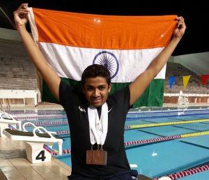 Swimming Like A Champion- Niranjan Mukundan@dontgiveupworld