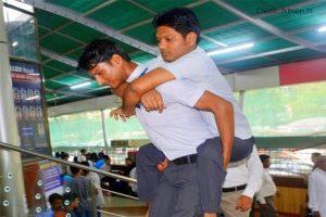Basant and elder brother Krishna