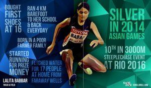 KAVITA RAUT:representing India in Women's marathon at Rio 2016.@Dontgiveuworld
