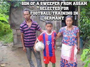 Son Of Sweaper -Chandan -Germany -Football @dontgiveupworld