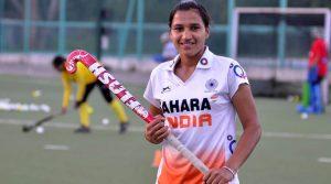 Rani Rampal, member of Indian Women Hockey Team during camp at NIS in Patiala, April 01 2014. Express photo by Kshitij Mohan