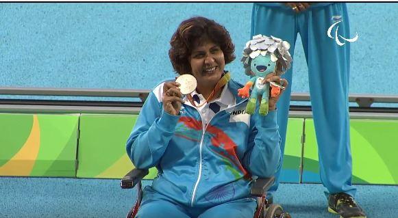 Deepa Malik# Win A Medal At Paralympics@Dontgiveupworld