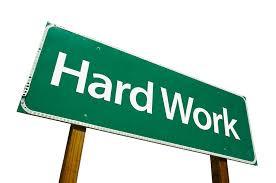 Hard Work & Confidence @dontgiveupworld