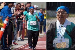 Kaur #100 Year Old #Race #Winner @Dontgiveupworld