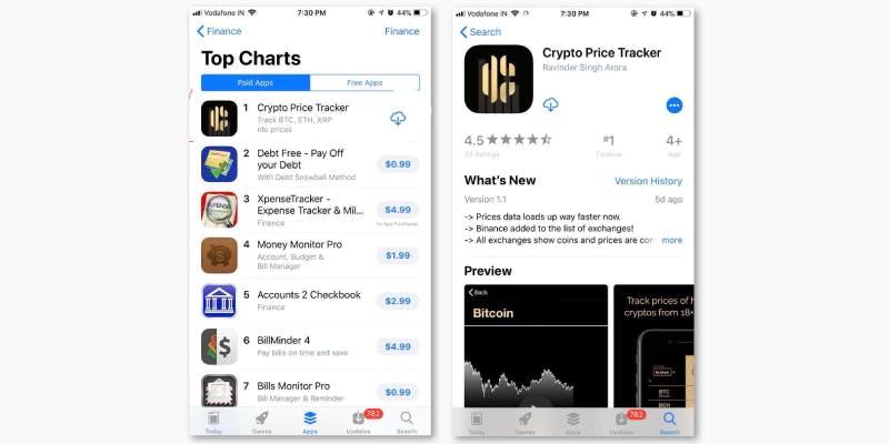Crypto Price Tracker App Developed By 16 Year Old Harshita Arora@dontgiveupworld