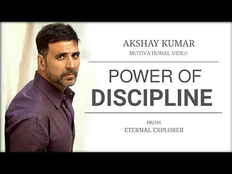 MOTIVATIONAL VIDEO BY AKSHYA KUMAR: POWER OF DISCIPLINE