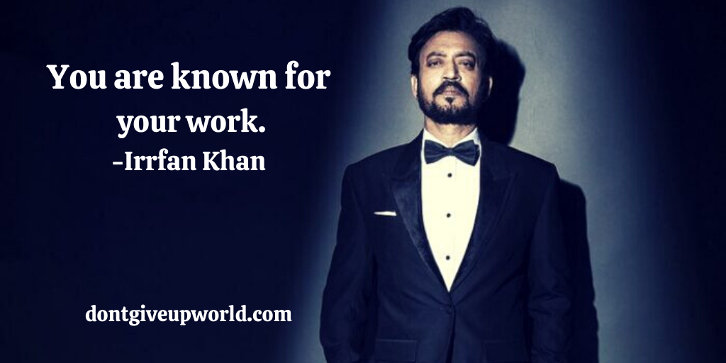 The inspirational story of Irfan Khan. Irfan Khan posing in a photoshoot.