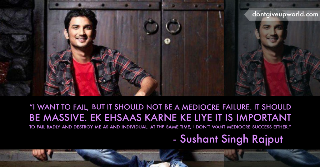 To pay tribute to sushant singh Rajput by representing 20 Quotes by Sushant Singh Rajput or 20 Life Lessons by Sushant Singh Rajput.